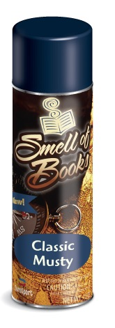Smell of Books: Classic Musty Scent